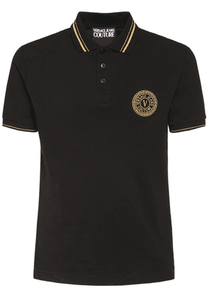 Logo Cotton Polo