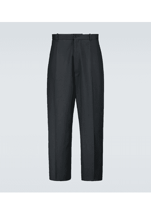 Baggy small-fit tailored pants