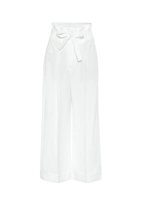 Exclusive to Mytheresa – High-rise wide-leg pants