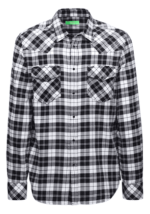 Check Organic Cotton Flannel Shirt
