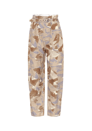 Exclusive to Mytheresa – Iona high-rise cotton-blend pants
