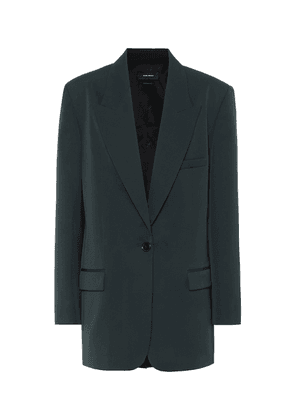 Pika single-breasted wool blazer