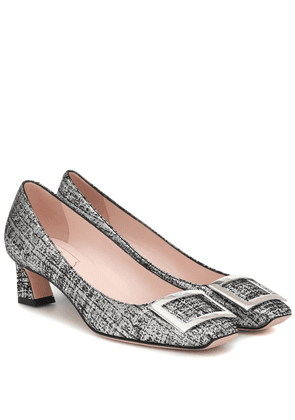 Trompette 45 printed pumps