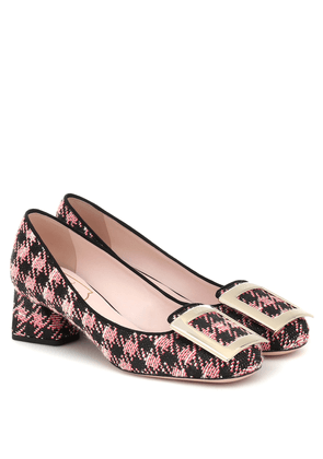 Très Vivier 45 tweed pumps