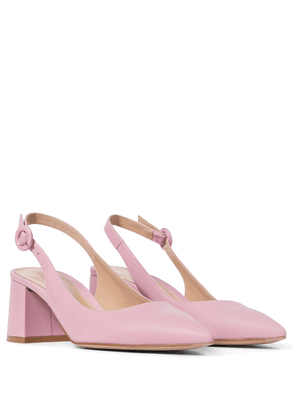 Agata 60 slingback leather pumps