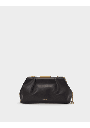 Clutch Florence In Brown Leather