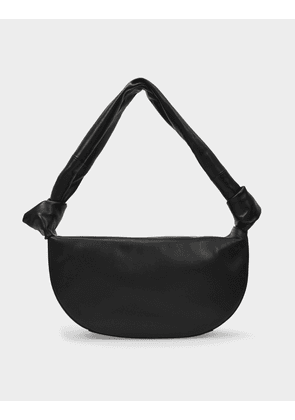 Double Knot Bag in Black Leather