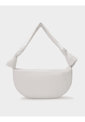 Double Knot Bag in Cream Leather