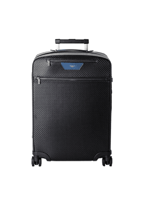 Black Stepan & Cosmo Blue Cabin Trolley Suitcase