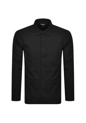 Barbour International Patch Overshirt Black