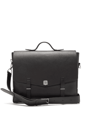 Métier - Rider Grained-leather Briefcase - Mens - Black