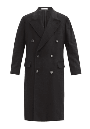 Umit Benan B+ - Double-breasted Cashmere Coat - Mens - Black