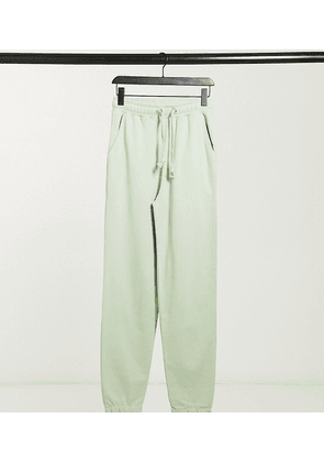 COLLUSION joggers in green
