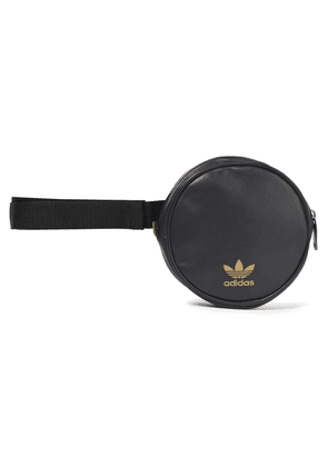 Adidas Originals Logo-print Faux Leather Belt Bag Woman Black Size --