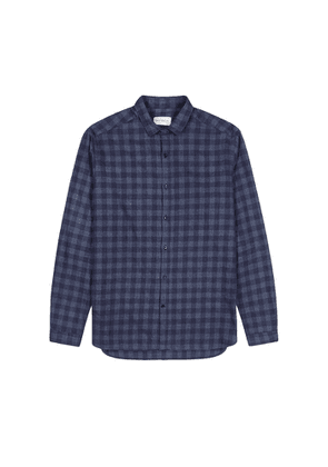 Oliver Spencer Clerkenwell Checked Brushed Cotton Shirt