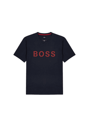 BOSS Tiburt Logo Cotton-blend T-shirt