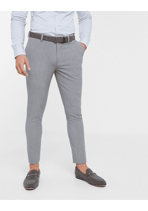 ASOS DESIGN super skinny suit trousers in mid grey