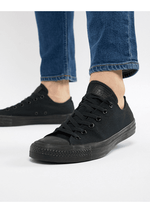 Converse All Star ox plimsolls in black m5039c