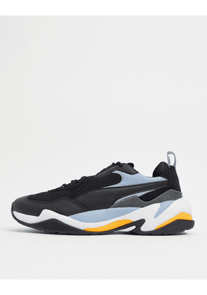 Puma Thunder 2.0 trainers in black and blue