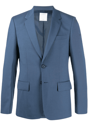 Sandro Paris fitted single-breasted blazer - Blue