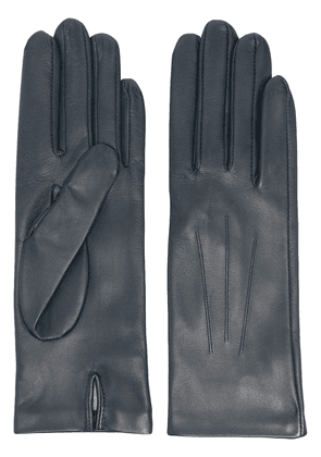 DENTS Felicity leather gloves - Blue