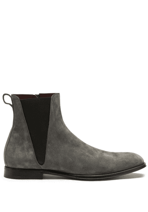 Dolce & Gabbana suede ankle boots - Green