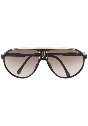 Carrera oversized aviator sunglasses - Black