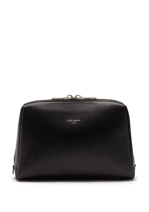 Dolce & Gabbana two-way zip detachable shoulder bag - Black