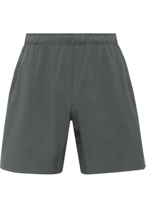 Reigning Champ - Hybrid Stretch-Jersey Shorts - Men - Gray