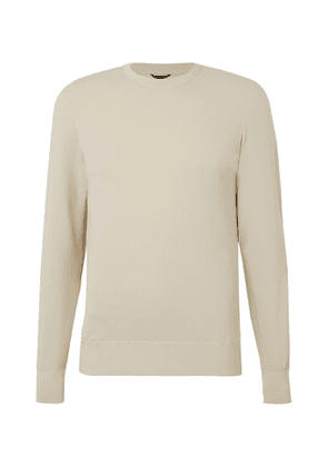 Reigning Champ - Slim-Fit Polartec Power Air Sweatshirt - Men - Neutrals