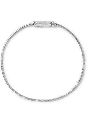TOM WOOD - Sterling Silver Chain Bracelet - Men - Silver