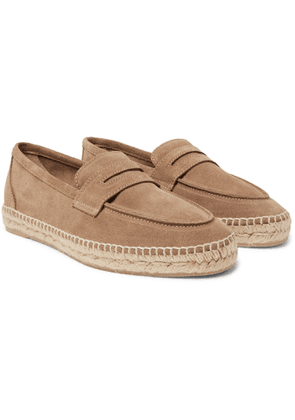 Castañer - Nacho Suede Espadrille Loafers - Men - Brown