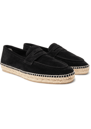 Castañer - Nacho Suede Espadrille Loafers - Men - Black