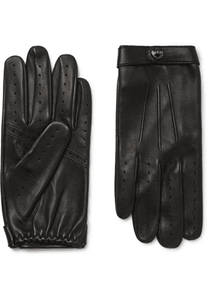 DENTS - Flemming Leather Gloves - Men - Black - M