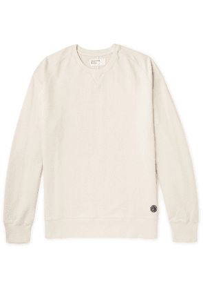 Universal Works - Loopback Cotton-Jersey Sweatshirt - Men - Neutrals