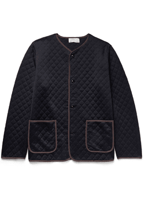Chimala - Quilted Woven Padded Jacket - Men - Blue