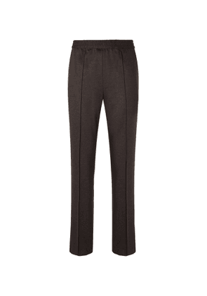 Brioni - Virgin Wool and Cashmere-Blend Suit Trousers - Men - Brown
