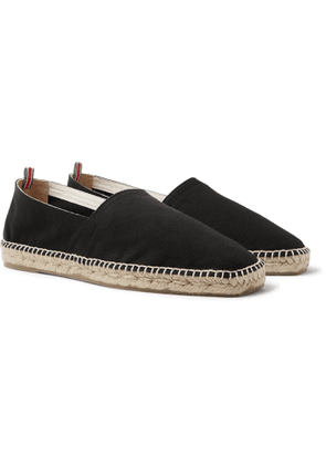 Castañer - Pablo Canvas Espadrilles - Men - Black