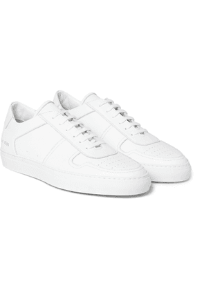 Common Projects - BBall Leather Sneakers - Men - White
