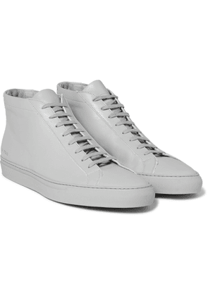 Common Projects - Original Achilles Leather High-Top Sneakers - Men - Gray