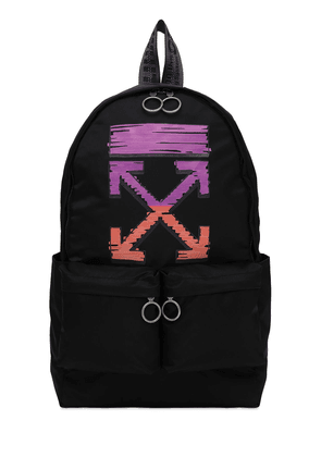Marker Logo Tech Canvas Backpack