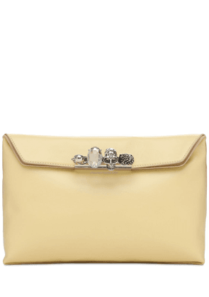 Four Rings Soft Leather Pouch