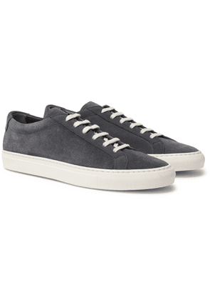 Common Projects - Achilles Suede Sneakers - Men - Gray