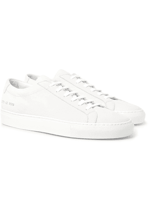 Common Projects - Achilles Lux Nubuck Sneakers - Men - White