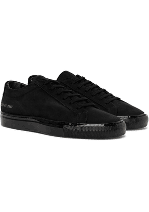 Common Projects - Achilles Lux Nubuck Sneakers - Men - Black