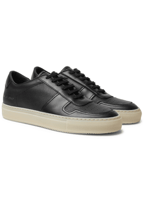 Common Projects - BBall Leather Sneakers - Men - Black