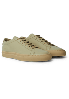 Common Projects - Original Achilles Leather Sneakers - Men - Neutrals