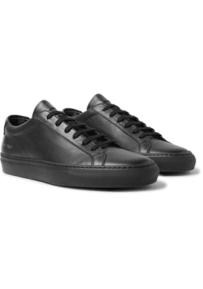 Common Projects - Original Achilles Leather Sneakers - Men - Black