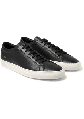 Common Projects - Original Achilles Full-Grain Leather Sneakers - Men - Black