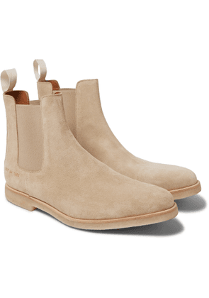 Common Projects - Suede Chelsea Boots - Men - Neutrals